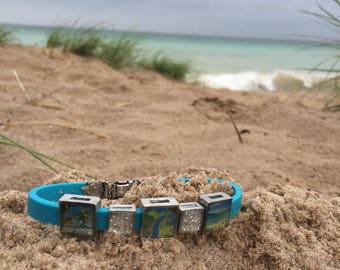 Women's Handmade Stainless Steel Link Bracelet