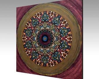 Canvas Print - Journey to Lemuria Mandala