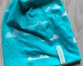 GOTS certified organic cotton Jersey beanie Cap