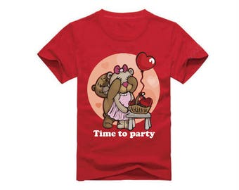 Time To Party T-Shirt for children - available in many sizes and colors