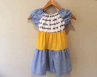 Girls Ruffle Dress - Size 4