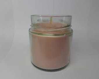 Vegetable soy wax cherry scented candle.