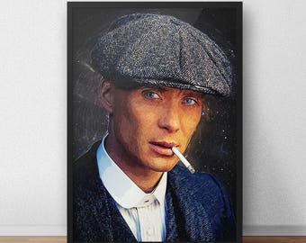 Thomas Shelby poster - Peaky Blinders