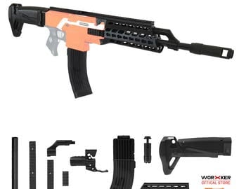 Worker MOD F10555 AK ALFA Imitation Kit 3D Printing Combo for Stryfe N508