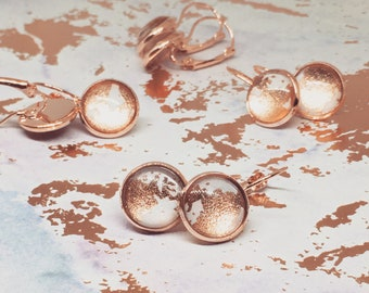 Rose Gold French Hooks