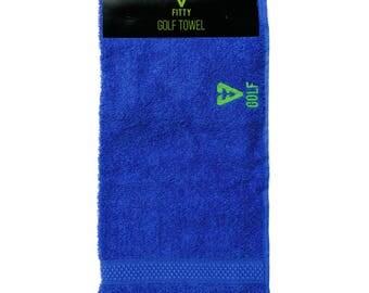 FITTY UK Royal Blue Golf Towel