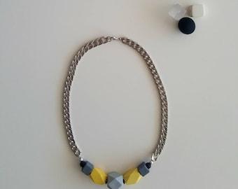 Yellow Zoe necklace