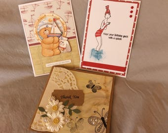 Greeting cards- pack of 3