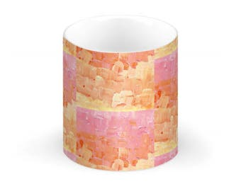 China Mug- Signature Basket Weave