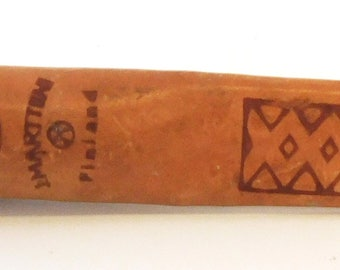"J. MARTTIINI 6"" Fixed Blade Filet Knife in Leather sheath, Finland"