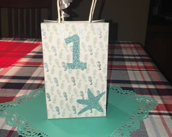 Under the Sea favor bags