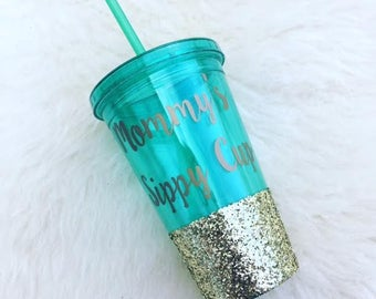Mommy's Sippy Cup Tumbler