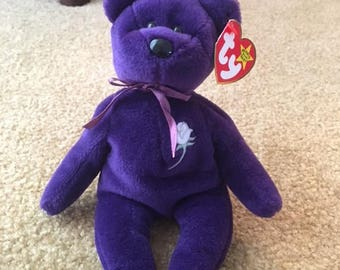 TY Original Princess Di Beanie Baby Collector's Item
