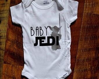 Baby Jedi baby onesie - Star Wars baby onesie - Star Wars onesie