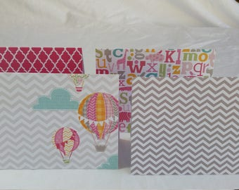 Baby Note Cards Set of 4 with Envelopes