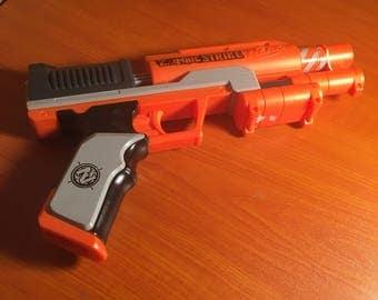 Orange Nerf Zombie Strike Gun