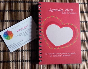 Pocket diary 2018 - 52 weeks to lose weight by loving otherwise