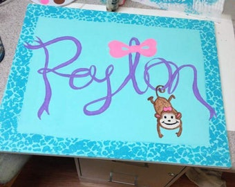 Custom childrens paintings
