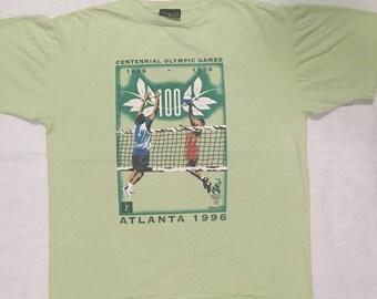 Vintage 1996 Olympic Atlanta  Size XLFreeShipping