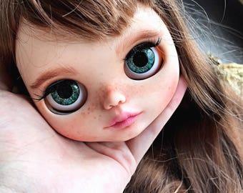 REZERVE ooak custom Blythe doll  TBL art doll