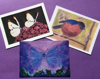 Postcards pack of 3