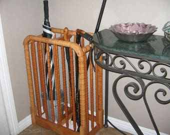 Umbrella stand, cane storage
