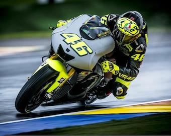 Valentino Rossi Canvas | Moto GP | Motorbike | Race Bike