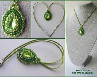 Handmade Necklece 00051 by Arta's Divine handmade jewelry