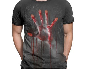 FANTUCCI T-shirt for Men Horror. XS - 3XL Cotton T-shirts for Men.
