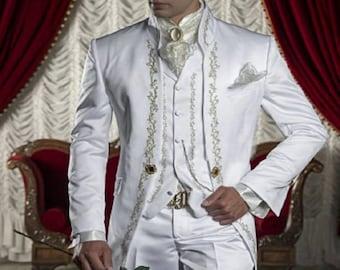 Men White Suits