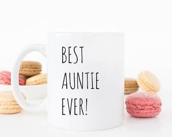 Best Aunty ever mug