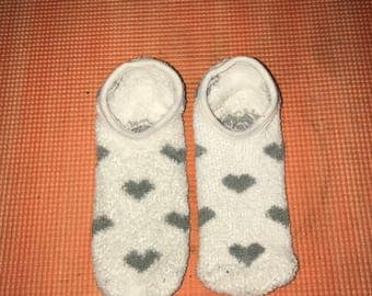 Heart Slipper/Socks