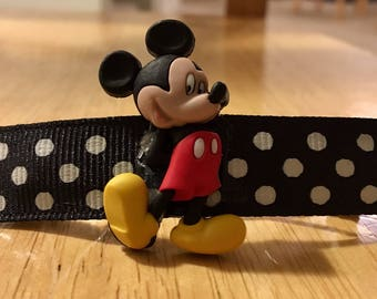 Gorgeous Handmade Mickey Mouse Barrettes!