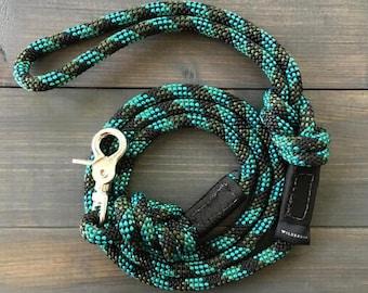 Granite Quick Clip Rope Dog Leash