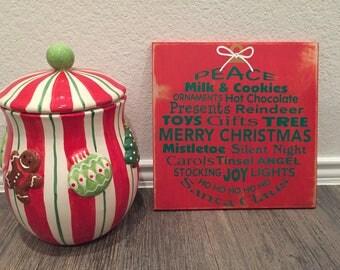 Christmas Sign - Ornament