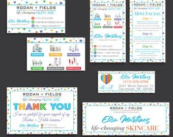 Rodan and Fields Bundle, Rodan and Fields Marketing Kit, Rodan + Fields Business Card, RF Cards, R and F Marketing Package, Digital RF16