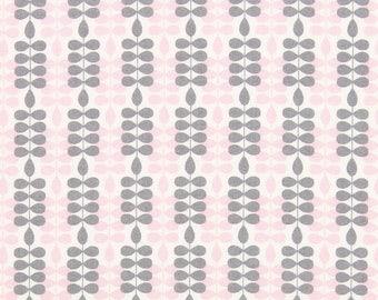Lovely fenton gray Rose fabric