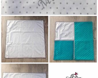 Sweet plaid baby blanket