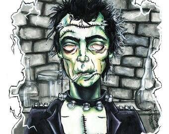 Frankenstein, Art Print