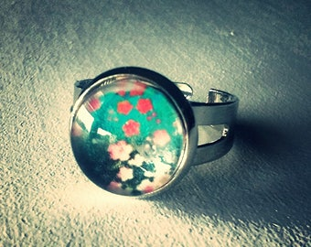 TOMOKO floral ring