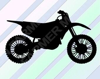 Dirt Bike Svg File, Dirt Bike Laser, Dirt Bike Dxf, Dirt Bike Stencil, Dirt Bike Cricut, Dirt Bike Eps, Dirt Bike Svg, Dirt Bike Silhouette