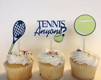 Tennis Party Toppers