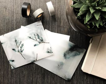 Envelopes - Misty Forest