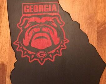 Handmade Bulldogs Wall Art