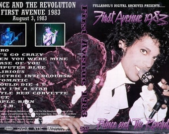 Prince Live First Avenue dvdr 1983 (Minneapolis)