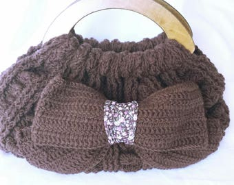 lovely crochet purse