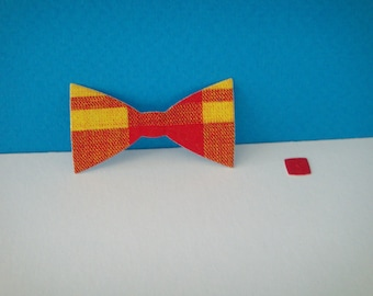 Cut for scrapbooking and card madras bowtie