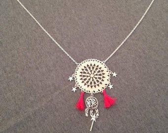 Nightmare catcher necklace tassels