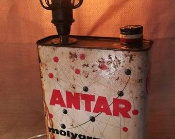 Lamp industrial vintage Tin