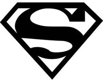 "stencil P.V.C 200 Micron ""superman"" reusable 21 x 16 cms (possible other sizes)"